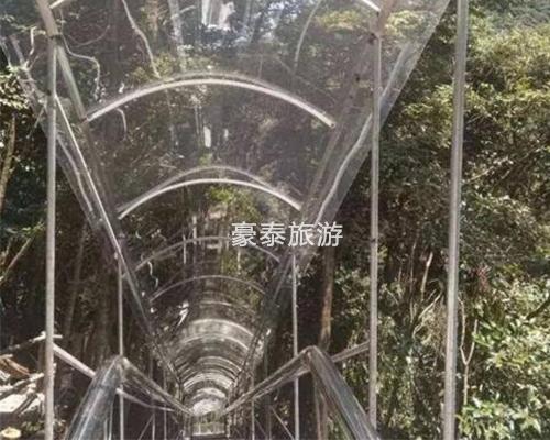 高空玻璃滑道