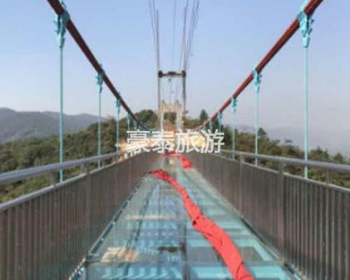 透明玻璃吊桥