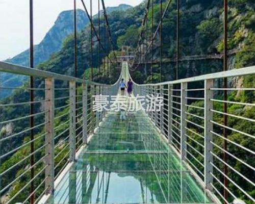 高空透明吊桥