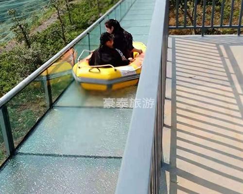 汉中玻璃漂流